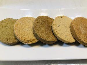 いろんな味のクッキー