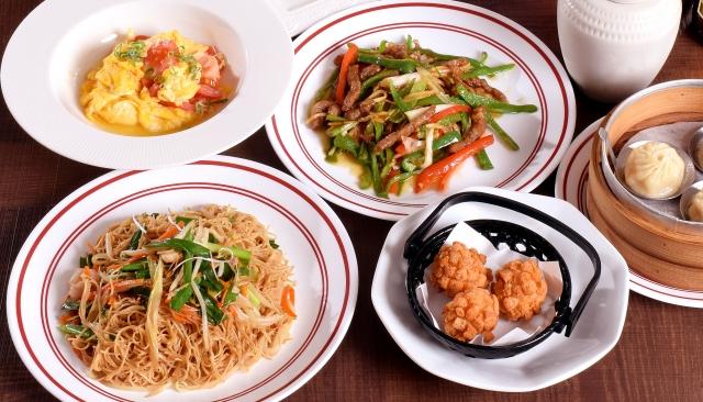 たくさんの中華料理