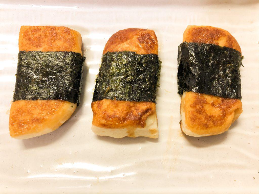 海苔巻きサイリウム餅