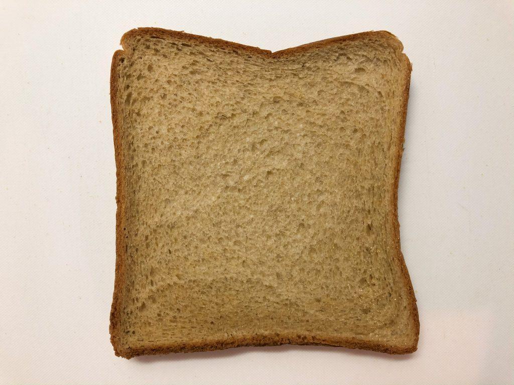 ローソンブラン入り食パンが一枚写っている画像